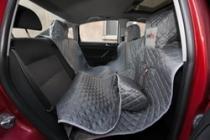 Reedog ochranný autopotah do auta pro psy na zip - šedý