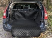 Reedog ochranný autopotah do kufru pro psy - černý