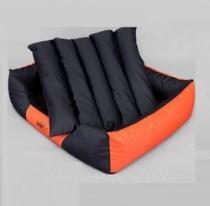 Reedog Comfy Black & Orange pelíšek