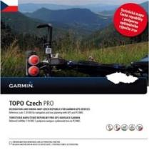 Garmin Topo Czech PRO 2015, microSD SD karta