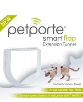PetPorte Tunel k dvířkám bílý