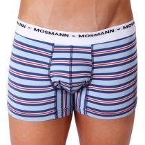Mosmann Australia Boxer Eco Ash Light Blue Multi Stripe