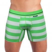 Mosmann Australia Boxer Kelly Luxe Grey/Green Striped