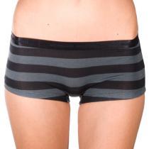 Mosmann Australia Boyshorts Grey/Black Stripe