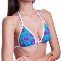 69SLAM Plavky 69SLAM Horní Díl Triangle Flamingo Blue