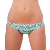 69SLAM Plavky 69SLAM Kalhotky Plunge Bikini Coconut