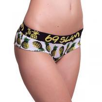 69SLAM Kalhotky Boxer Bamboo Pineapples White