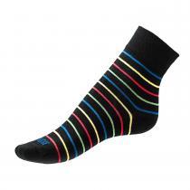 Phuseckle ponožky barevné pruhy