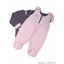 KOALA 2-dílná kojenecká souprava Bella růžová