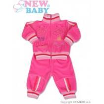 NEW BABY 2-dílná souprava Lena růžová