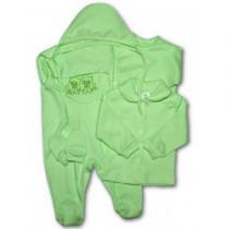 NEW BABY 5-ti dílná soupravička zelená