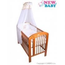 NEW BABY 7-dílné ložní povlečení Bunnies 100/135 béžové