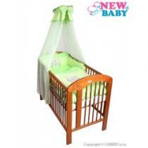 NEW BABY 7-dílné ložní povlečení Bunnies 100/135 zelené