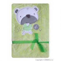 KOALA Srdíčka zelená s medvídkem