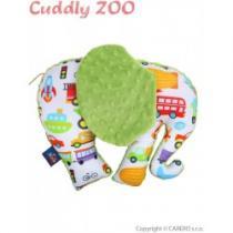 CUDDLY ZOO Slon zelená