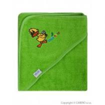 TEGA Dětská osuška 80x80 Balbínka zelená