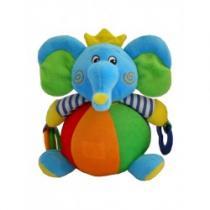 BABY MIX Dětská plyšová edukační hračka slon
