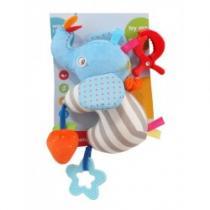 BABY MIX Dětská plyšová hračka Sloník