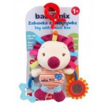 BABY MIX Dětská plyšová hračka s hracím strojkem Ježek