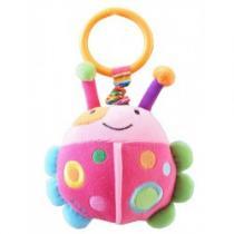 BABY MIX Dětská plyšová hračka s vibrací beruška