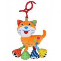 BABY MIX Dětská plyšová hračka s vibrací Kočka