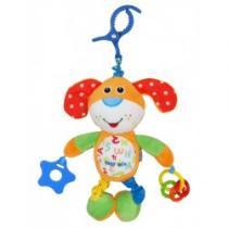BABY MIX Dětská plyšová hračka s vibrací Pejsek