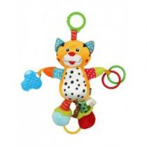 BABY MIX Dětská plyšová hračka s vibrací Tygřík