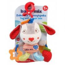 BABY MIX Dětská plyšová hračka se zvukem Králíček