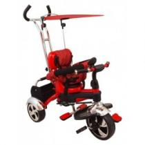 BABY MIX Dětská tříkolka red