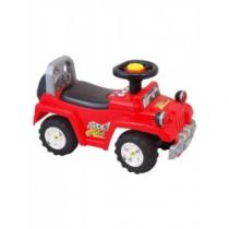 BABY MIX Dětské jezdítko se zvukem červené