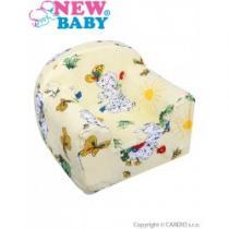 NEW BABY Dětské křeslo béžové s pejsky