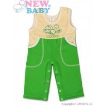 NEW BABY Dětské lacláčky Happy zelené