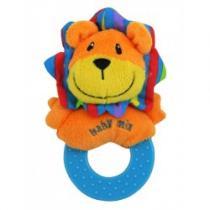 BABY MIX Dětské plyšové chrastítko lev