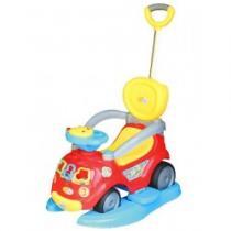 BABY MIX Dětské hrající jezdítko 3v1 red