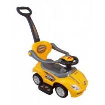 BABY MIX Dětské hrající jezdítko 3v1 yellow