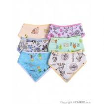 AKUKU Dětský šátek na krk 6ks různé obrázky