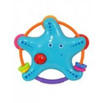 BABY MIX Chrastítko Hvězdička modrá