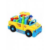 BABY MIX Edukační hračka auto s nářadím