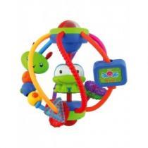 BABY MIX Edukační hračka koule s žabičkou