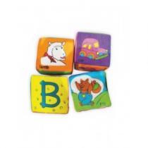 BABY MIX Edukační kostky 4 kusy