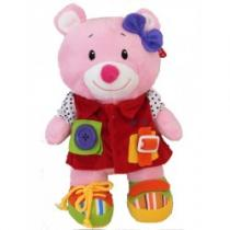 BABY MIX Edukační plyšová hračka Amálka