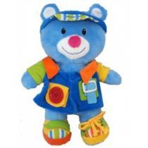 BABY MIX Edukační plyšová hračka Kubík