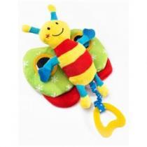 SENSILLO Edukační plyšová hračka motýlek s pískátkem