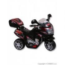 BAYO Elektrická motorka malá black