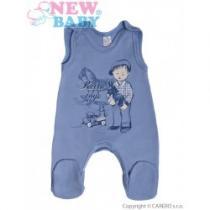 NEW BABY Kojenecké dupačky Retro modré