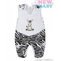 NEW BABY Kojenecké dupačky Zebra