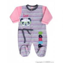 KOALA Kojenecký overal Panda růžový