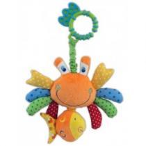 BABY MIX Plyšová hračka s vibrací krab