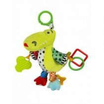 BABY MIX Plyšová hračka se zvukem Krokodýl