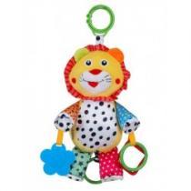 BABY MIX Plyšová hračka se zvukem Lvíček